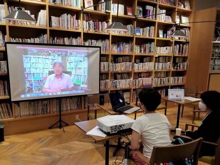 ブックフェスタ・ジャパン2020の関連イベント「おんせん図書館みかんPV」