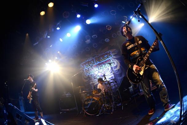 「TOKI ROCK NIIGATA 2015」でのNorthern19のパフォーマンスの様子。(撮影:半田安政[showcase])