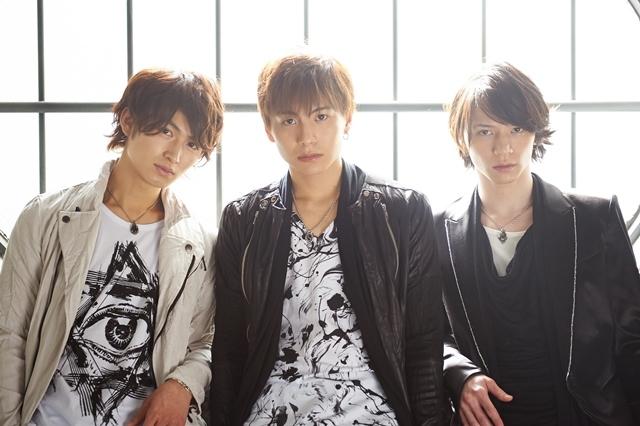 Unknown Number!!! 写真左から、松田凌、宮崎秋人(俳優集団D-BOYS)、北村諒