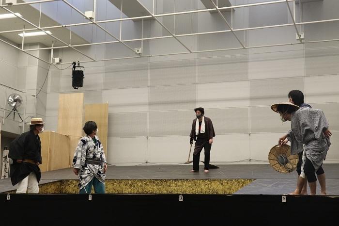 舞台『斬られの仙太』稽古場より