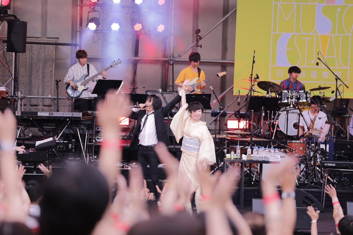 宮本浩次 / 椎名林檎  (写真提供:日比谷音楽祭)
