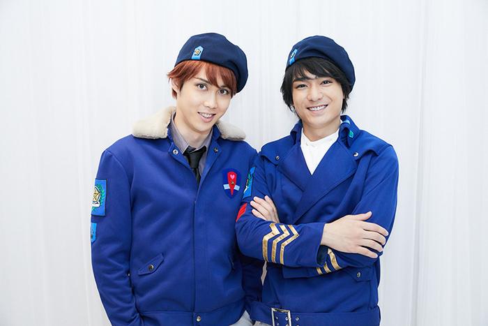 (左から)碕理人、小早川俊輔