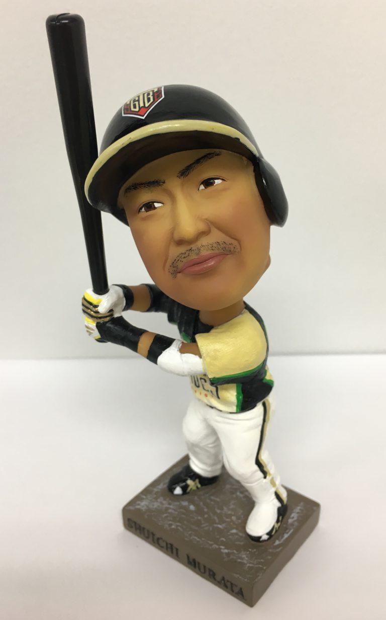 村田修一選手ボブルヘッド人形