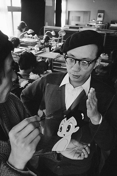 手塚治虫 1963年撮影 [練馬区立美術館展示]
