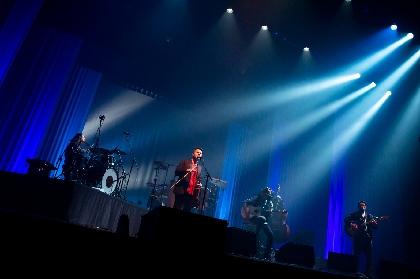 OAU、全国ツアー・Bunkamuraオーチャードホル公演より「The Rain」のライブ映像を公開