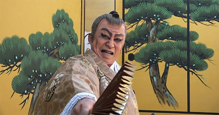 「図夢歌舞伎『忠臣蔵』第一回」高師直=松本幸四郎(©松竹)