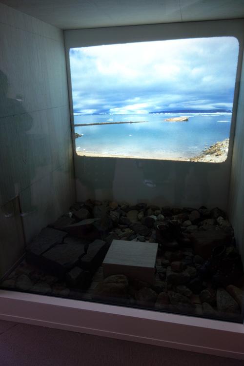 「宇吉郎の部屋」より 《グリーンランド 78°Nの氷冠の上で》1957-59