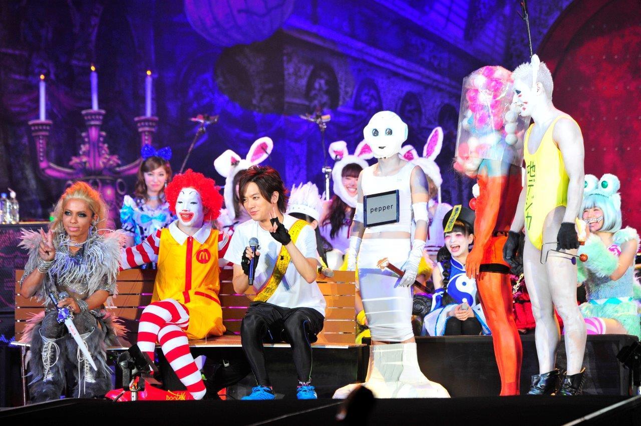 VAMPS HALLOWEEN PARTY 2015 /(カメラマン)今元秀明、緒車寿一、田中和子