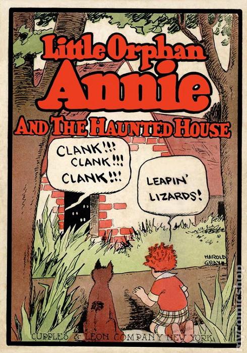 「Leapin' Lizards!」から始まるアニーのセリフ