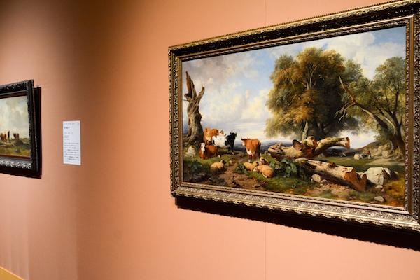 ジュール・コワニエ/ジャック・レイモン・ブラスカサット 《牛のいる風景》 19世紀前半 (C)The Pushkin State Museum of Fine Arts, Moscow.