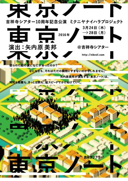 ミクニヤナイハラプロジェクト『東京ノート』