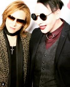マリリン・マンソンがYOSHIKIとの共演を明言、『コーチェラフェスティバル』X JAPANのステージに出演確定