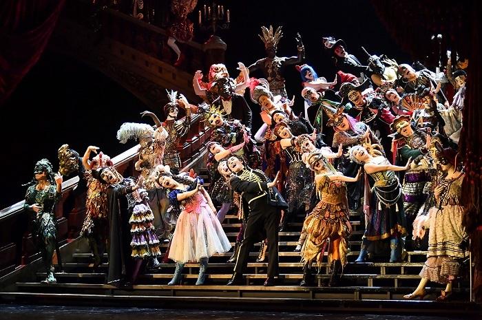 『オペラ座の怪人』   撮影:阿部章仁