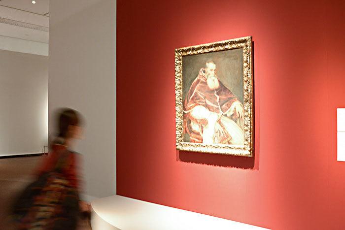 ティツィアーノ・ヴェチェッリオ《教皇パウルス 3 世の肖像》1543 年、ナポリ、カポディモンテ美術館