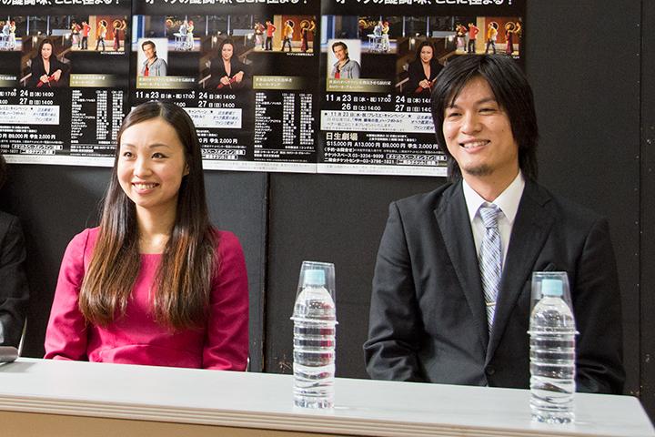 清野友香莉(左)、近藤圭