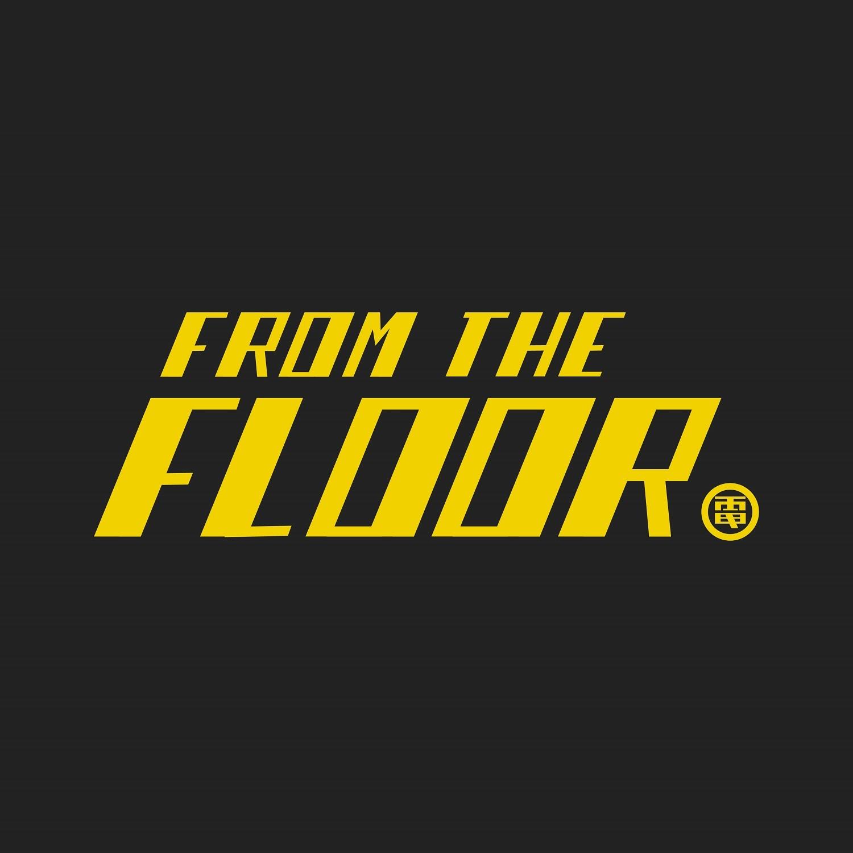 電気グルーヴ「FROM THE FLOOR ~前略、床の上より~」ロゴ画像