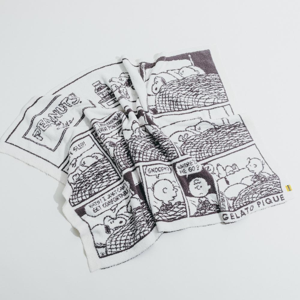 1周年を記念したgelato piqueとのスペシャルなコラボレーション: ブランケット 6,380円(税込)