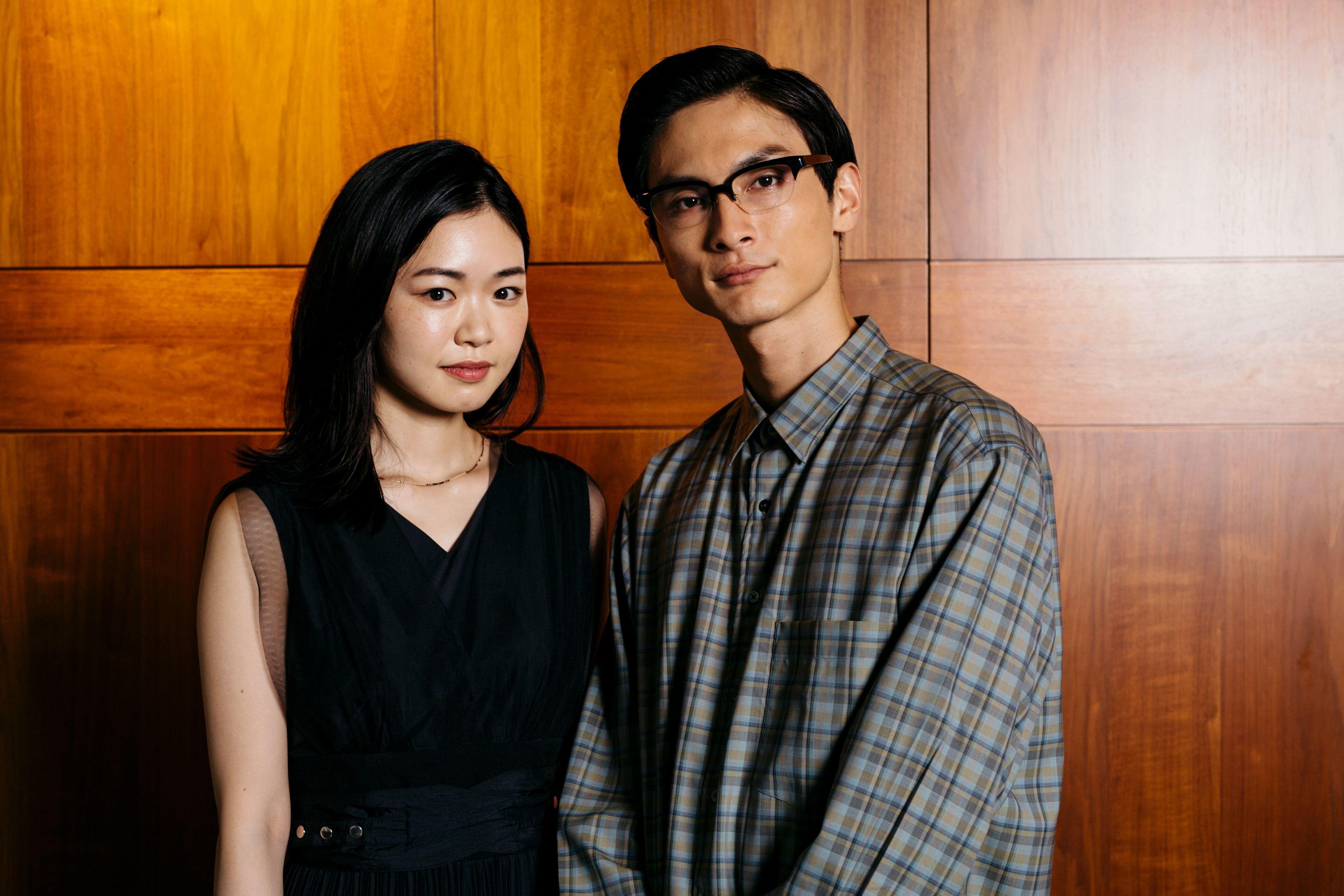左から、西川可奈子、高良健吾 撮影=早川里美