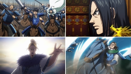 『キングダム』史上最大の戦いが描かれる、第3シリーズの第2弾PVが公開 秦国 vs 合従軍の壮絶を超える闘い
