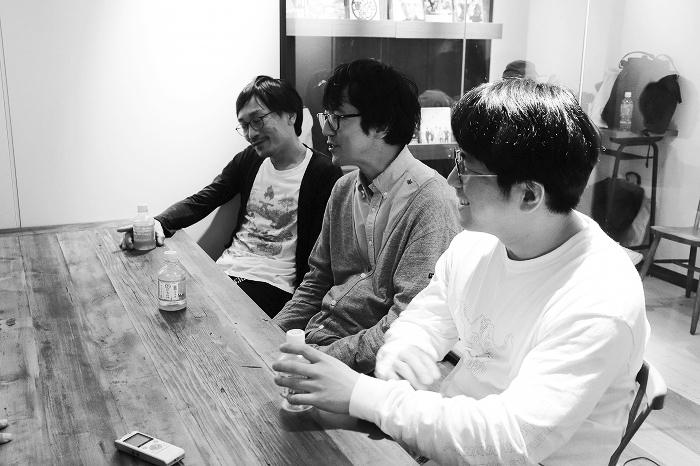 中川晴樹、酒井善史、角田貴志