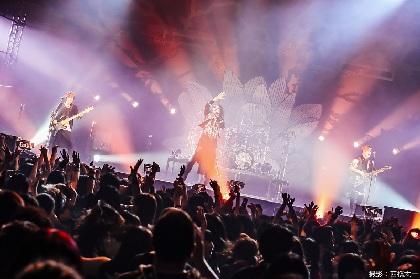 MUCC 20周年記念ライブ日本武道館2daysを9月3日にオンエア