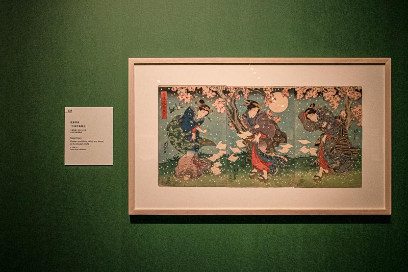 渓斎英泉《今様花鳥風月》日本浮世絵博物館(前期展示)