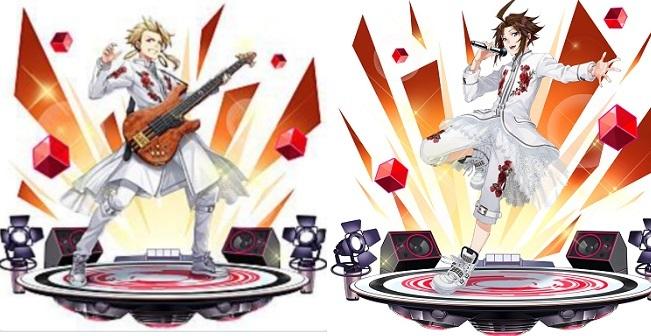 『ホップステップジャンパーズ』ガンマ(左)、カケル(右)