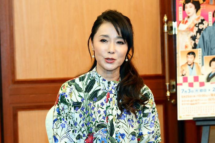 七月名作喜劇公演「紺屋と高尾」浅野ゆう子