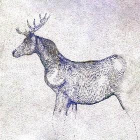 TVドラマ『ノーサイド・ゲーム』最終話 米津玄師が描いた「馬と鹿」ジャケットイラストが登場