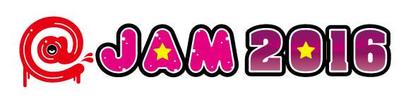 「@JAM 2016」ロゴ