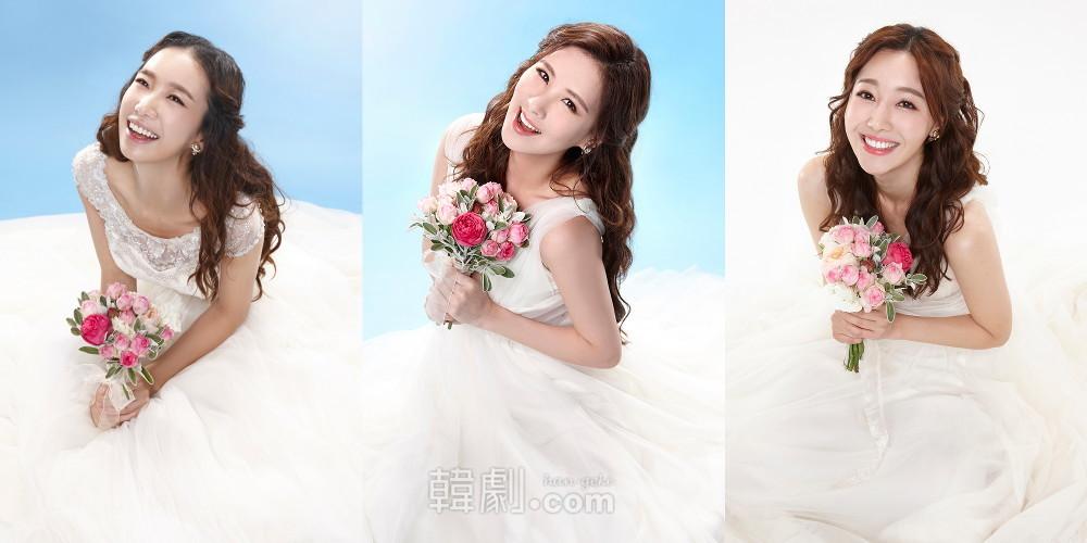 (写真左から)娘ソフィ役のパク・ジヨン、ソヒョン、キム・グムナ