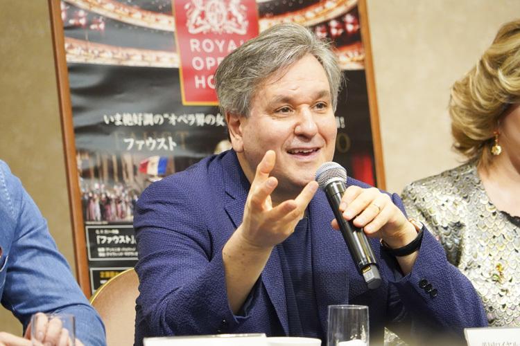 アントニオ ・ パッパーノ  photo:Ayano Tomozawa
