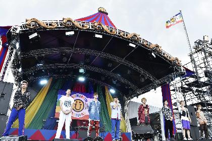 FANTASTICS、メンバー・中尾翔太さんの死去公表後初のステージで追悼 「僕たちは引き続き9人で初めてFANTASTICS」