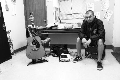 竹原ピストル 話題のCMソングが音源化、7月からの弾き語りツアー日程も発表