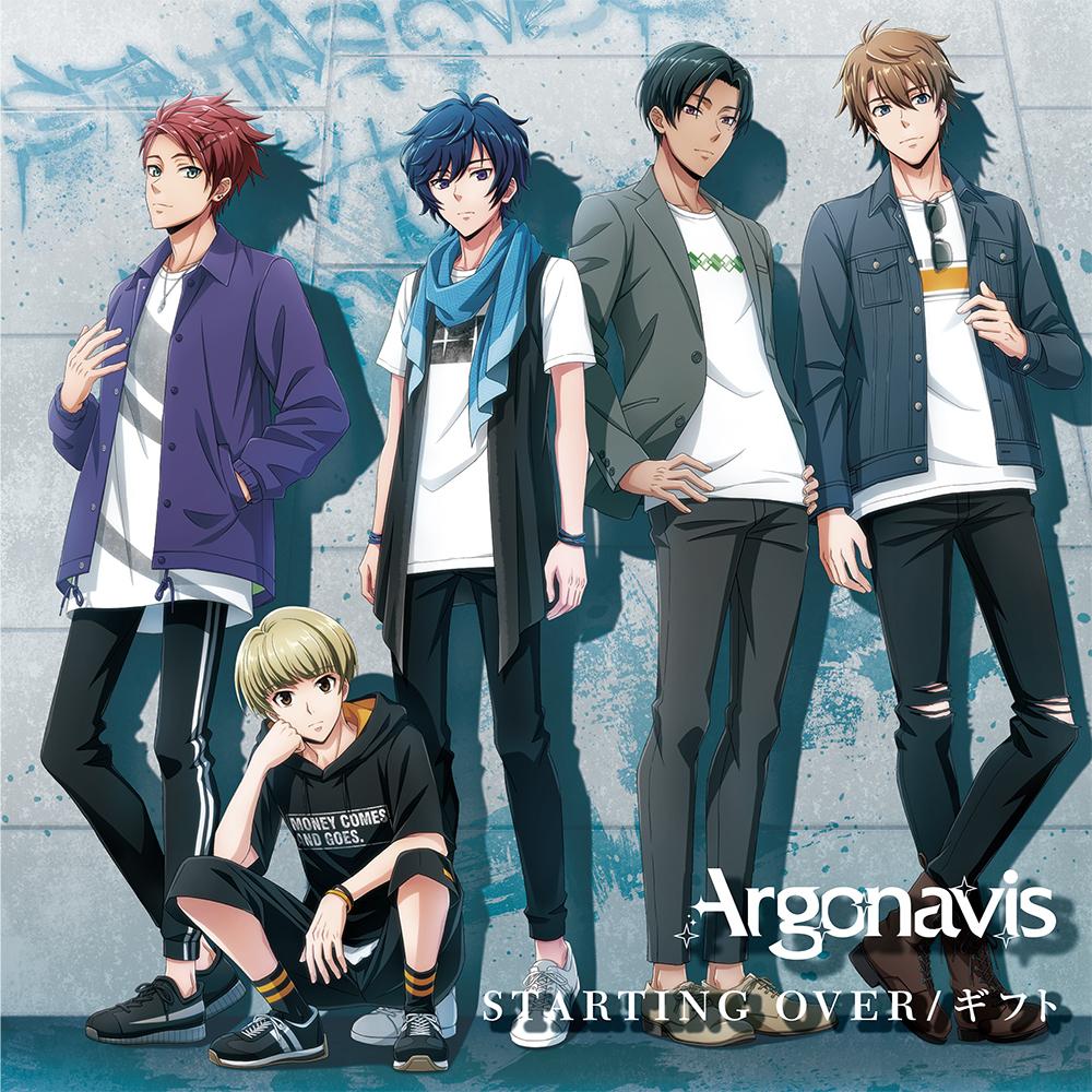 Argonavis 2nd Single「STARTING OVER/ギフト」通常盤ジャケット