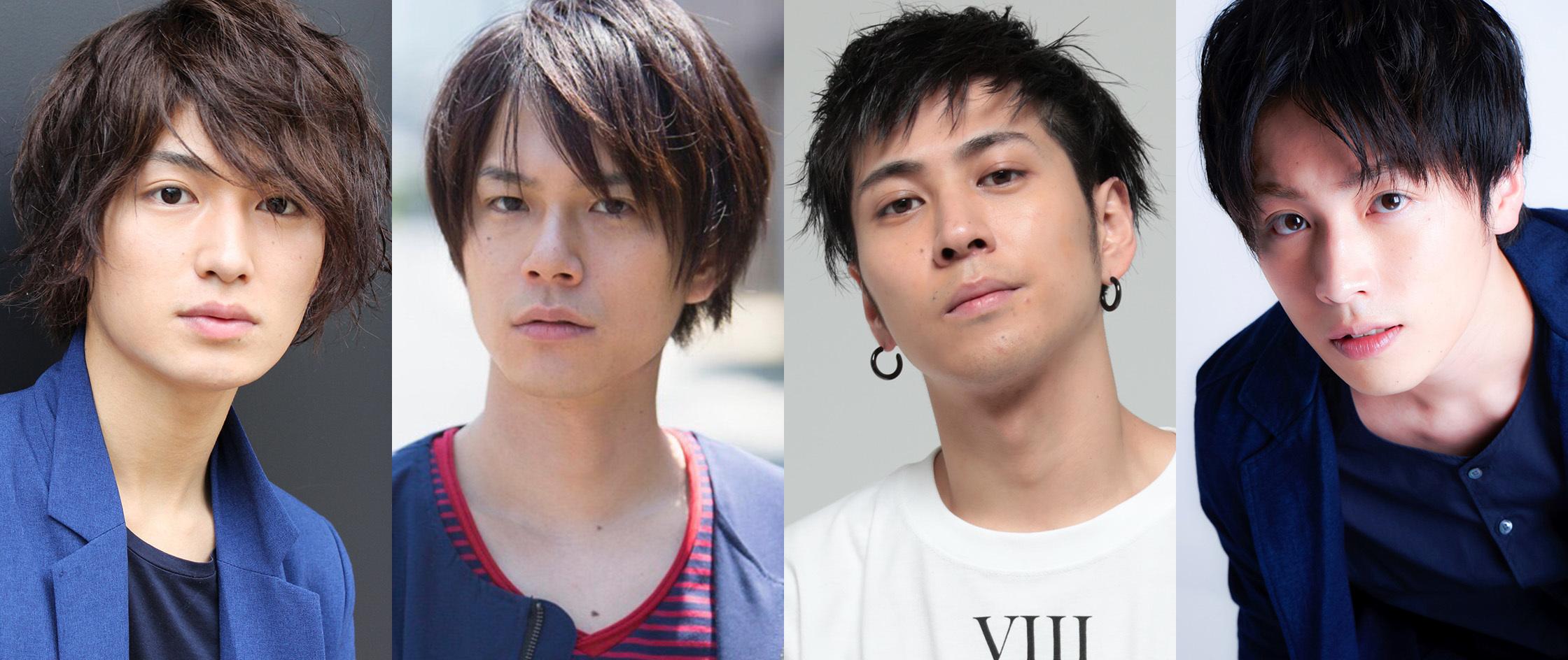 写真左から 松田凌、平野良、井澤勇貴、鈴木勝吾