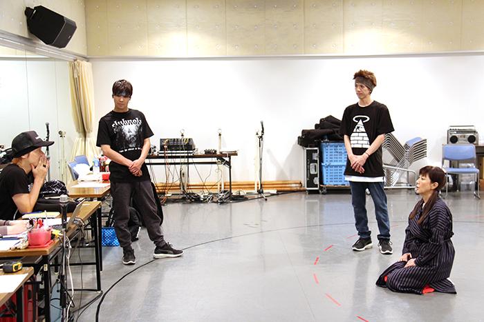植木豪、戸田恵子、HILOMU、TAKAHIRO