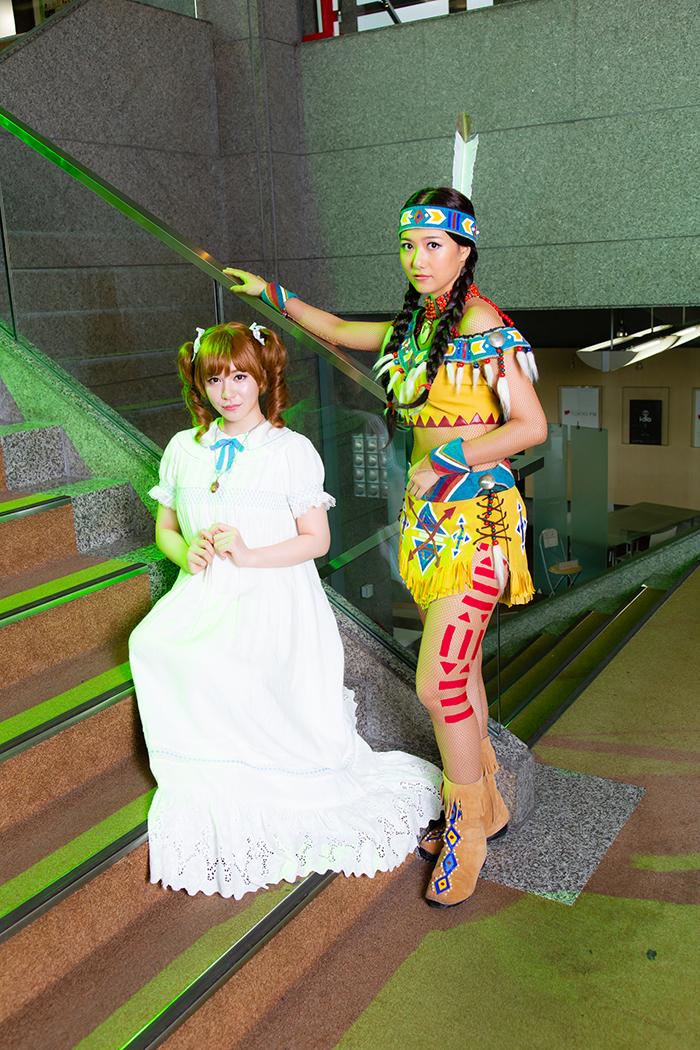 (左から)河西智美、宮澤佐江