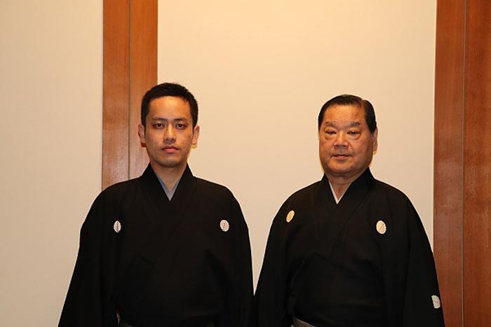 (左から)田崎甫、田崎隆三