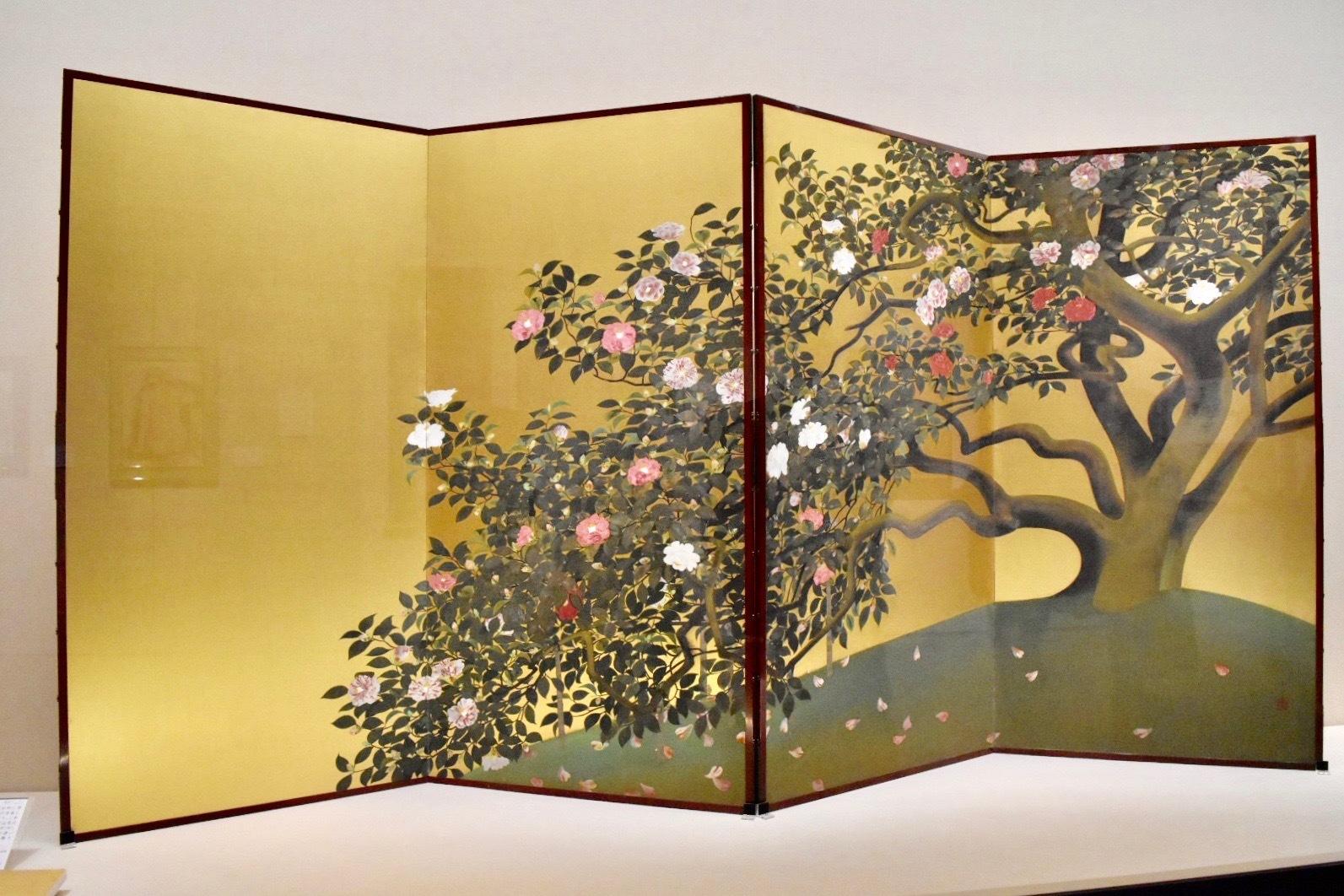 速水御舟 《名樹散椿》(重要文化財) 昭和4年 山種美術館蔵