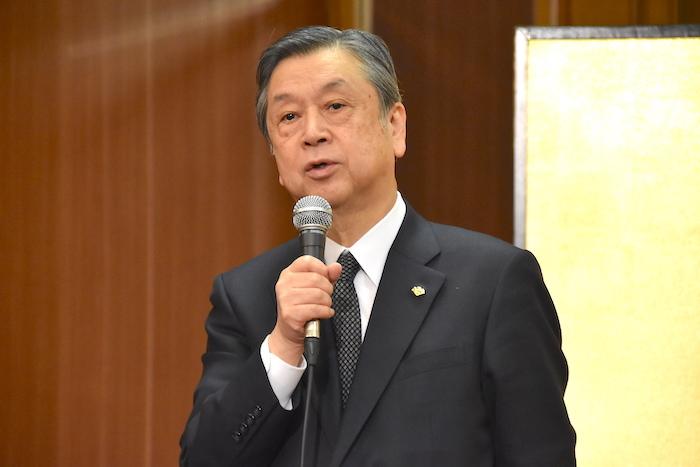 松竹の安孫子正・副社長