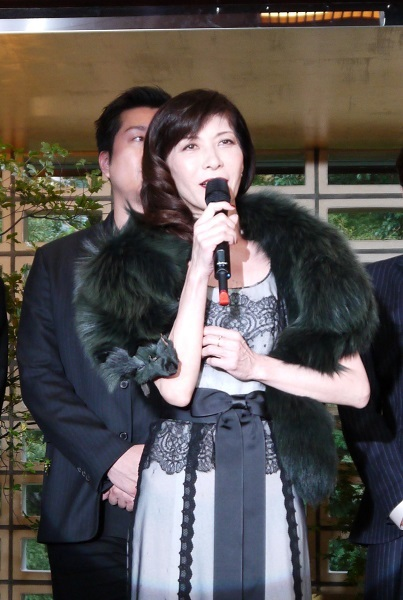 ミュージカル「イヴ・サンローラン」製作発表 安寿ミラ
