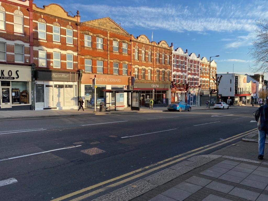 3月のロンドンの町並み 撮影:分島花音