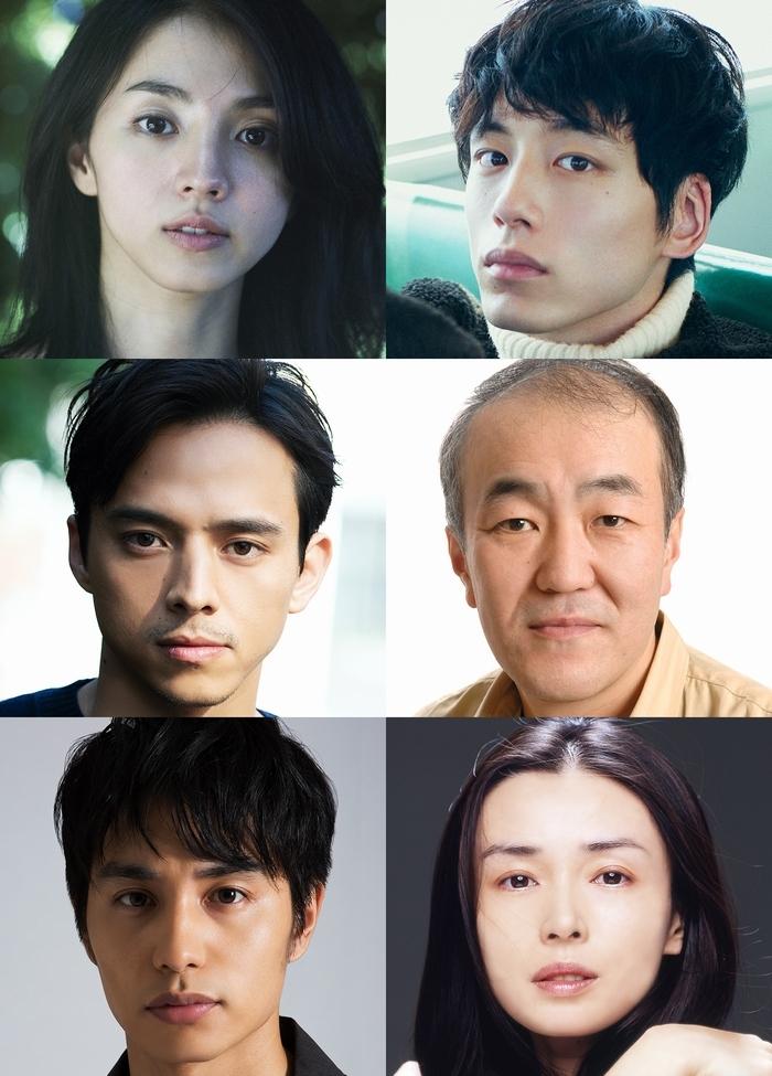 (左上から)満島ひかり、坂口健太郎、満島真之介、温水洋一、中村蒼、中嶋朋子