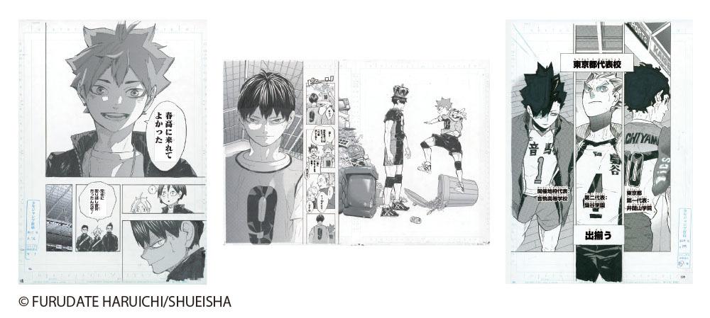 『ハイキュー!!』連載5周年記念 複製原稿(日向翔陽/影山飛雄/東京都代表校)