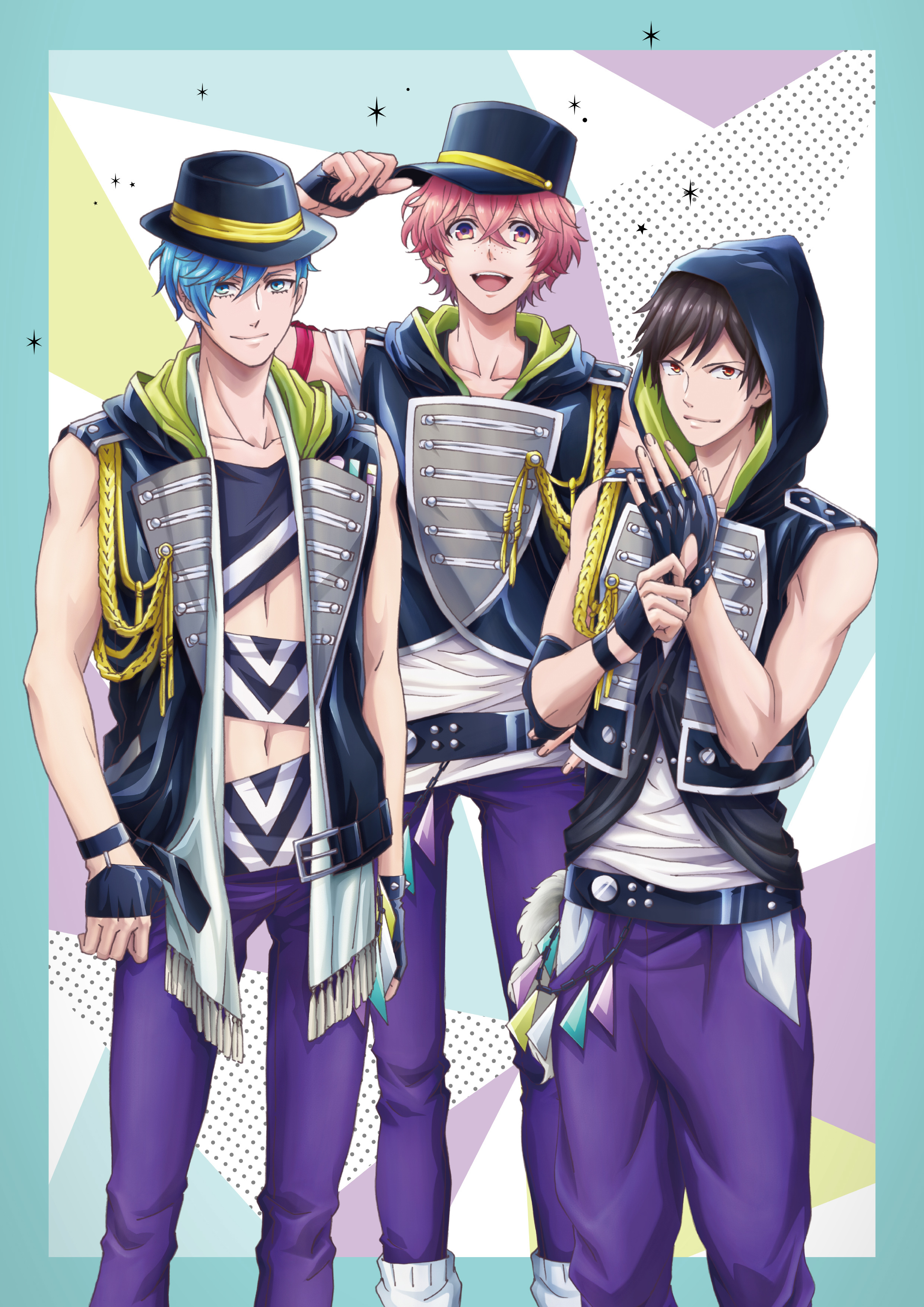 「THRIVE」 (C)MAGES./Team B-PRO (C)MAGES./Team B-PRO2 (C)B-PROJECT
