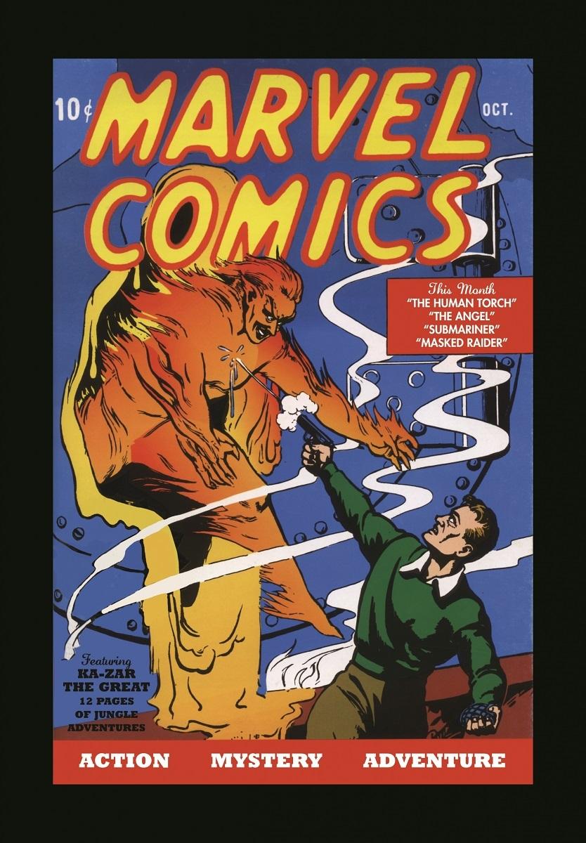 「マーベル・コミックス」 #1(1939年)  © 2017 MARVEL