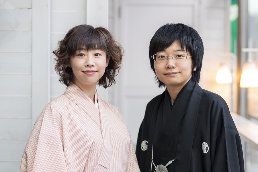(左から)春風亭ぴっかり☆、立川こはる