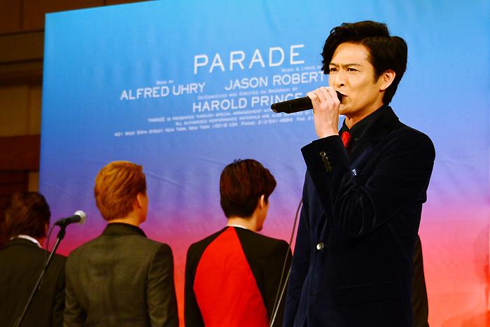 新納慎也 ミュージカル『パレード』製作発表