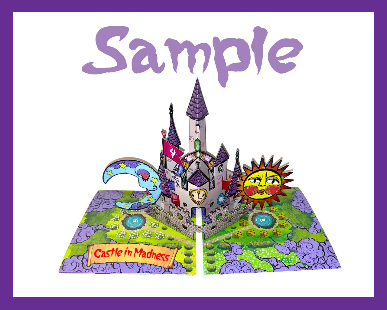 4s4ki 『Castle in Madness』初回限定盤 サンプル画像
